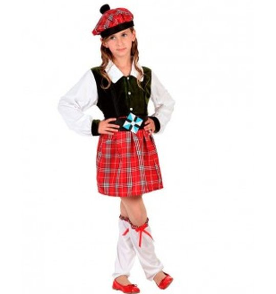 Scottish costume child girl