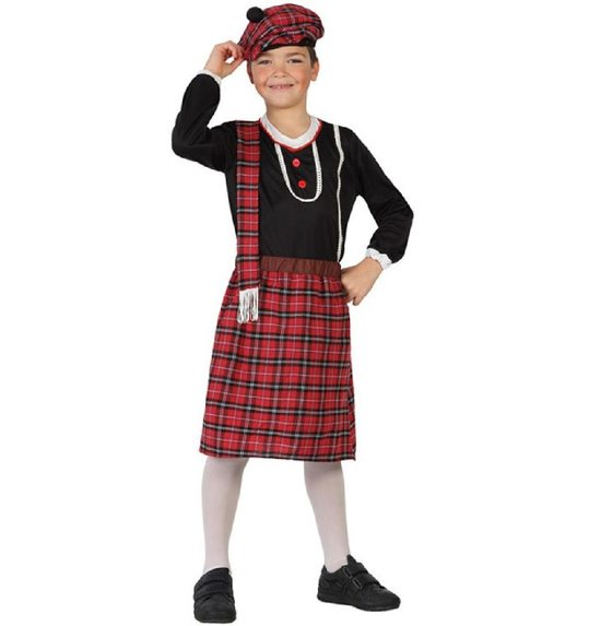 Scottish costume for children