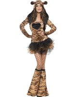 Sexy tiger dress with tutu skirt SM-29495