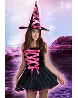 Sexy witch neon pink Lask0494