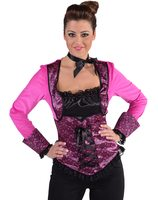 e2cd5c8714 Can can pink diva dress with corset SM-44003   Las Fiestas