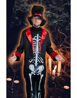 Skeleton costume Mister skully LASK0560