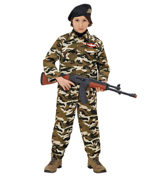 Soldier costume for boys