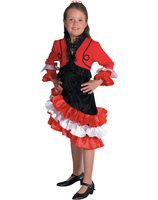 Spanish girl costume 208004