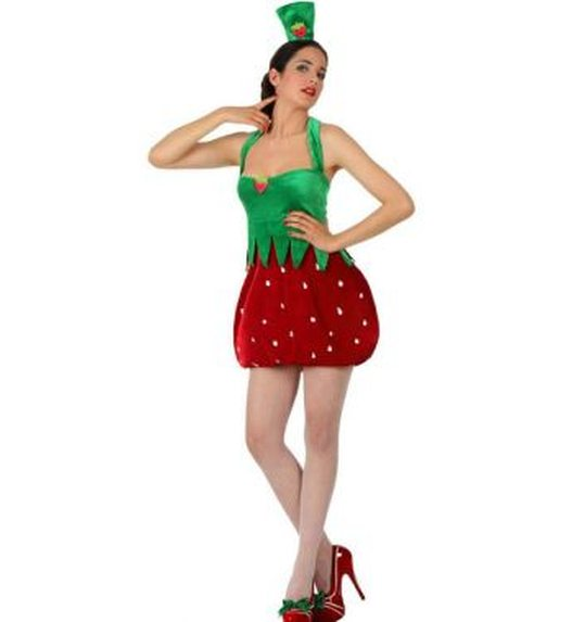 how to make a strawberry costume