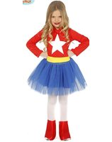 Super heroine costume for girls GU-83213/83214/83215
