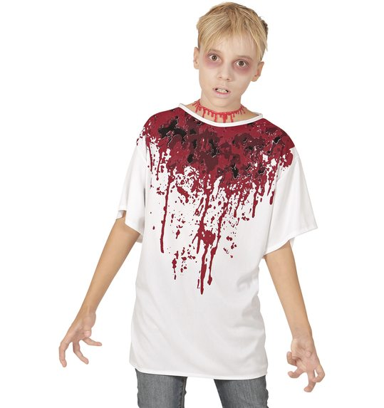 T-shirt with blood for children