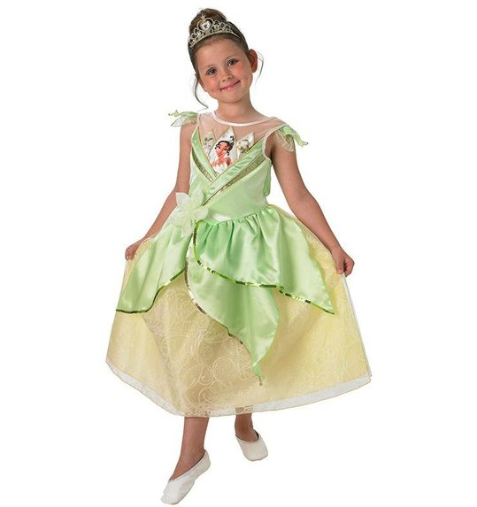 Tiana princess dress up costume  sc 1 st  Las Fiestas & Tiana princess dress up costume RU-3889220 @ Las Fiestas