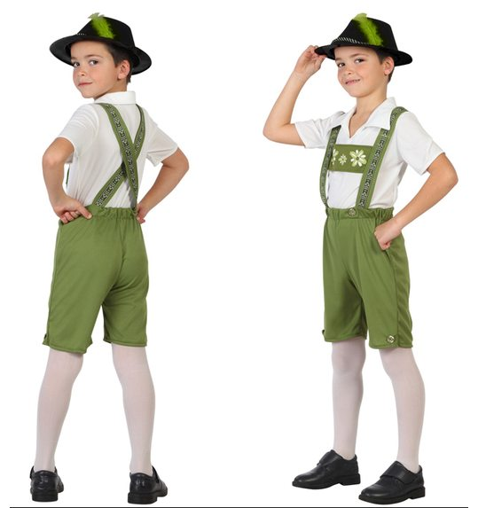Tyrolean boy costume child
