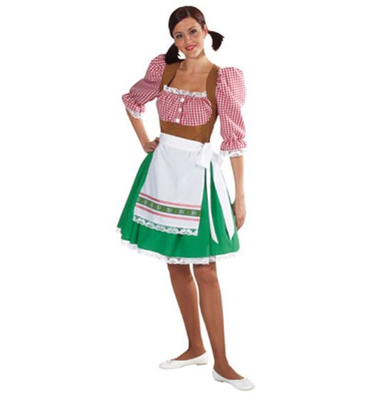Tyrolean dirndl dress