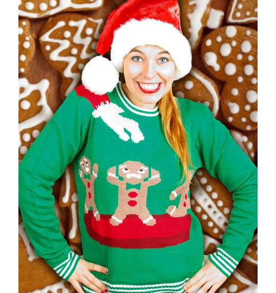 Ugly christmass sweater Cookie for men and women