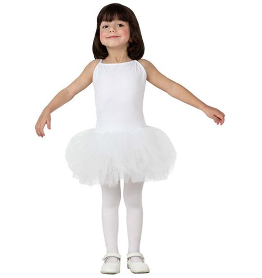 White ballerina costume for girls