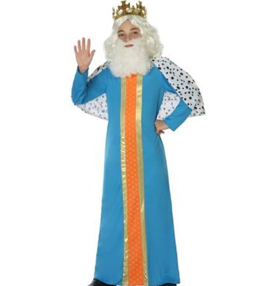 Wise man/King child costume blue