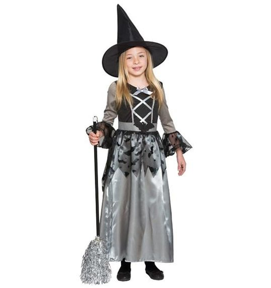 Witch Grey Costume for girls