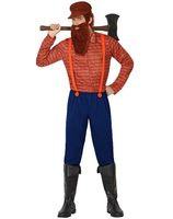 Woodcutter costume for adults AT-26307/26306