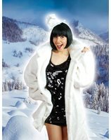 fake fur coat LASK0039