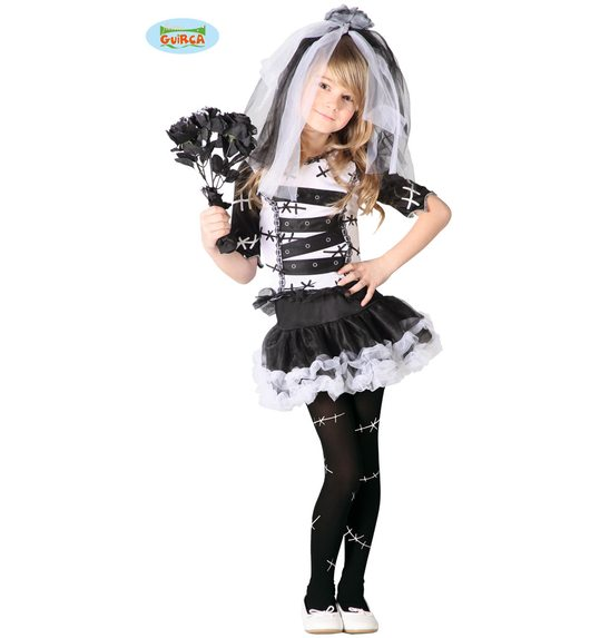 monster bride halloween dress for kids