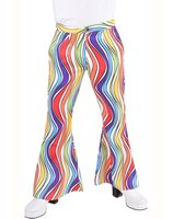 rainbow disco pants for men MA-206202-RA