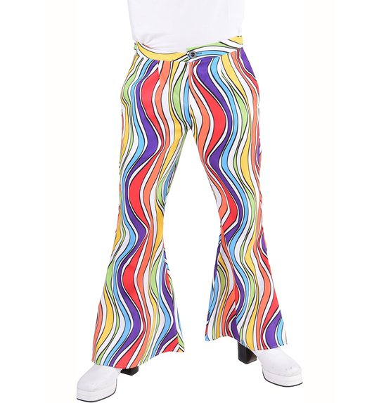 rainbow disco pants for men