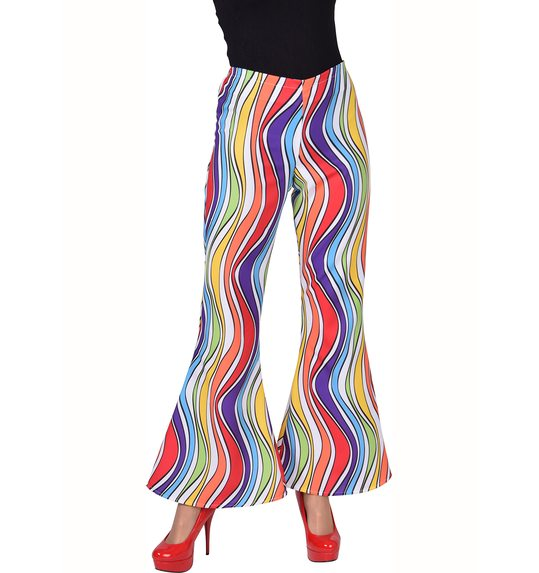 rainbow disco trousers