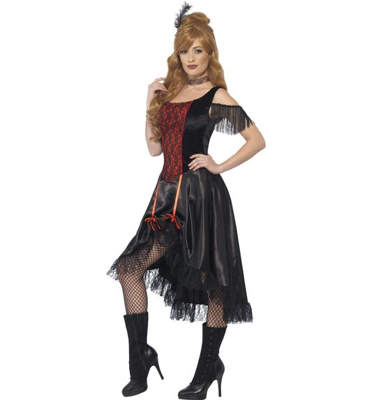 saloon cowgirl dress for ladies