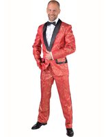 suit costume brocate red MA-217258-RO