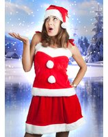 woman santa dress PWA2510