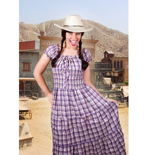 Cowboy dress different colors