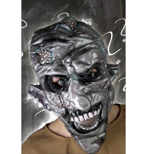 Creepy horror mask