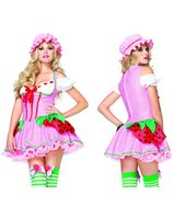 Berry beauty (costume sexy fraise) LA-83788