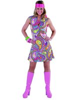 Robe Disco/hippie 'Funky Colors' 209130.0