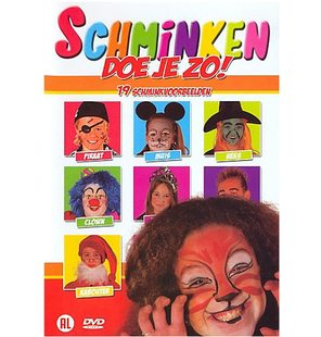 DVD face painting NL-Dutch