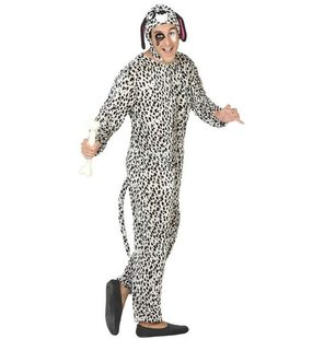 Dalmation dog suit