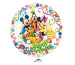 Folieballon Happy birthday mickey mouse