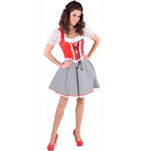 Dirndl Nicky Red