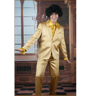 Disco costume Shiny  goud