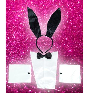 Ensemble lapin striptease