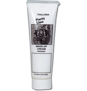 Face paint tube white