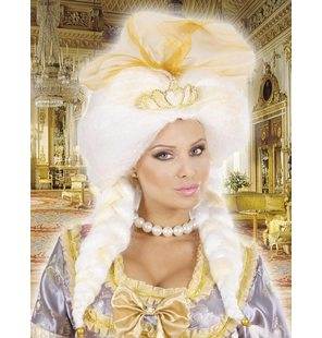 Fantasy Queen Wig With Tiara