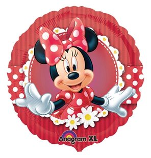 Foil ballooon Mad oabout Minnie Mouse