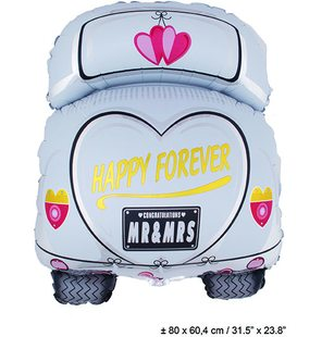 Folie Ballon Happy Forever (80*60.4 cm)