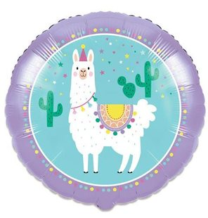 Folieballon Llama party (46cm)