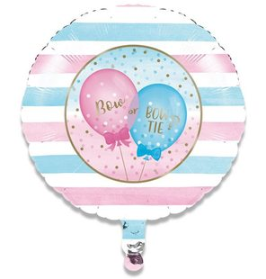 Folieballon gender reveal (46cm)