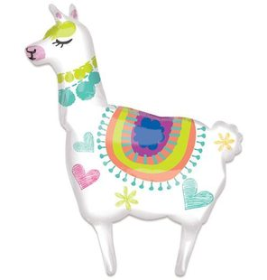 Folieballon llama SuperShape