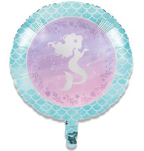 Folieballon mermaid shine (46cm)