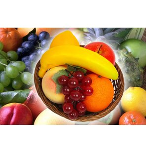 Fruitmand deco