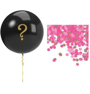 Gender reveal ballon meisje roze