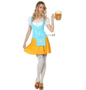 German beer Lady costume