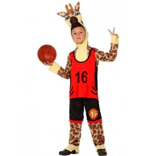 Giraffe Basket Costume for kids