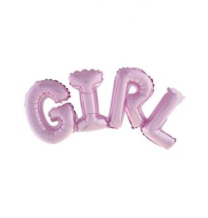 Girl folie ballon set